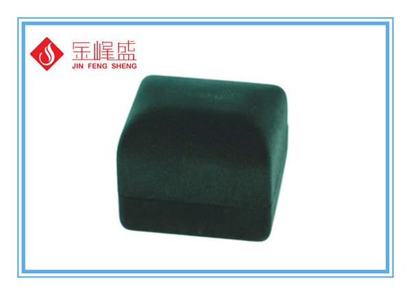 绿色植绒首饰盒