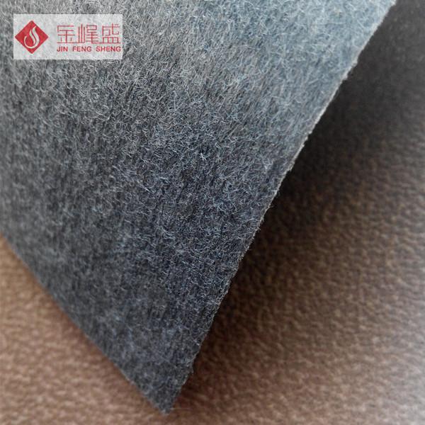 咖啡色珠粒植绒布(E1-P0322)