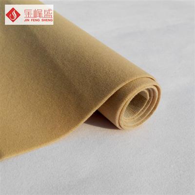 黄色水刺长毛植绒布(F01.C1.0061)
