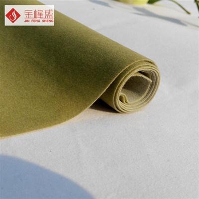 绿色水刺短毛植绒布(C01.D1.0539)