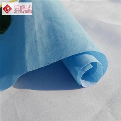 浅蓝色无纺短毛植绒布(D0-D0596)