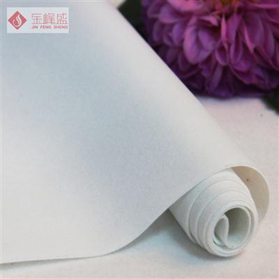 白色水刺长毛植绒布(G01.C1.0084)