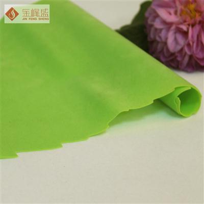 草绿色PVC植绒布
