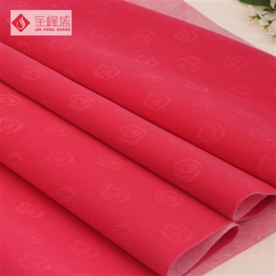 红色压花植绒布(A01.C1.0651)