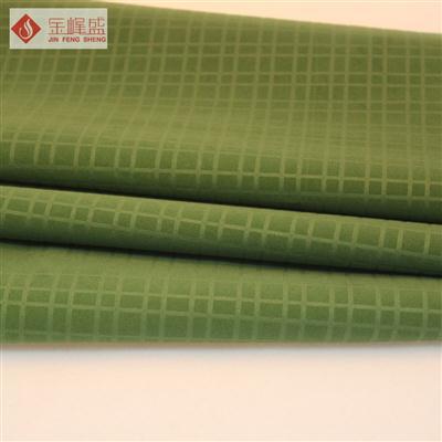 绿色压花植绒布(C6-404192)
