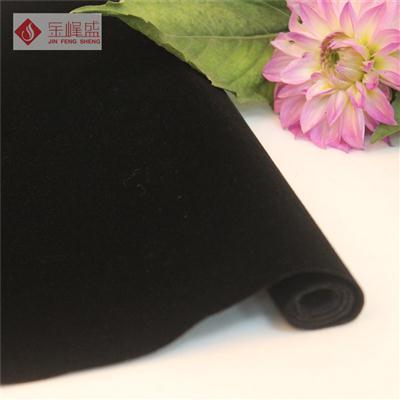 黑色水刺短毛植绒布(B00.D1.0600)