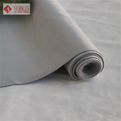 灰色针织长毛植绒布(H03.C1.0720)