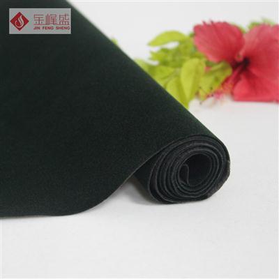 绿色水刺短毛植绒布(C1-911161)