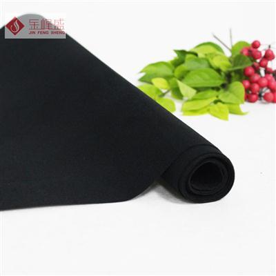 黑色无纺短毛植绒布(B0-2271)