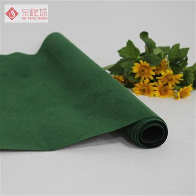 绿色无纺短毛植绒布(C00.D1.1333)