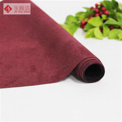 红色无纺短毛植绒布(A00.D1.1351)