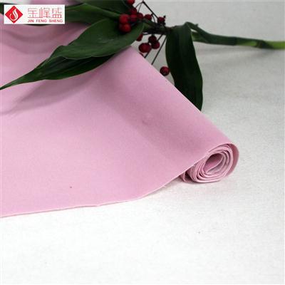 粉红色无纺短毛植绒布(A00.D1.1354)