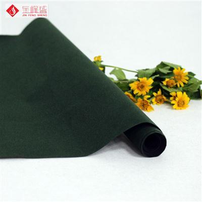 绿色无纺短毛植绒布(C0-805261)