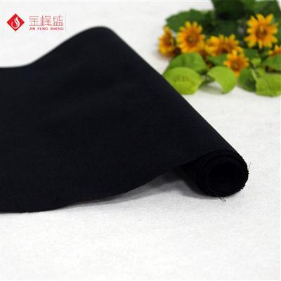 环保黑色无纺底短毛植绒布(B00.D1.1387)