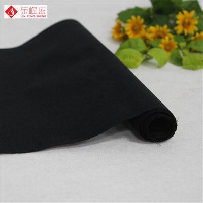黑色无纺短毛植绒布(B00.D1.1391)