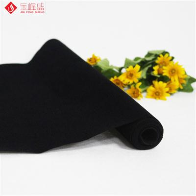 黑色无纺短毛植绒布(B00.D1.0005)