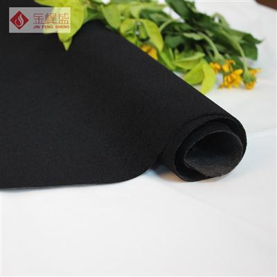 黑色水刺珠粒植绒布B01.P1.0014