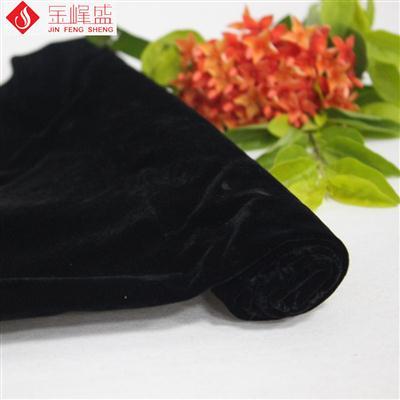 黑色棉布底长毛水洗植绒布