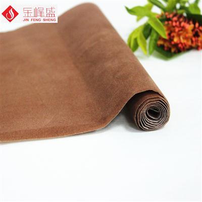棕色无纺布短毛植绒布(E00.D1.0904)