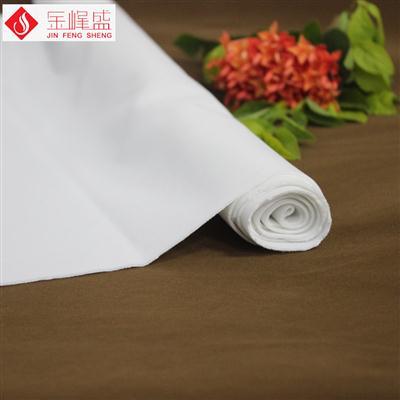 白色针织底长毛植绒布(G03.C1.0517)