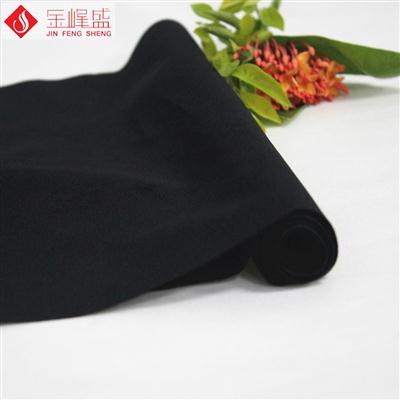 黑色棉布底PP珠粒植绒布(B04.P1.0012)