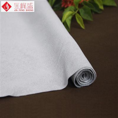 灰色棉布底PP珠粒植绒布(H4-PP70)