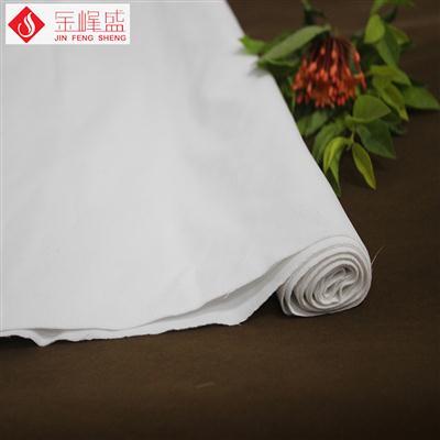 白色绸布底双面植绒布