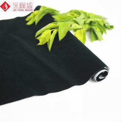 包装袋植绒布 棉布底墨绿色短毛植绒布(C04.D1.1594)