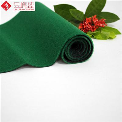 纺织机械专用布绿色 3mm长毛植绒布