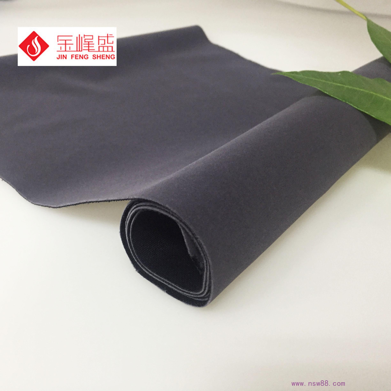 深灰色针织布长毛绒 H3-C1605031 艾灸专用绒布 医疗用品绒布