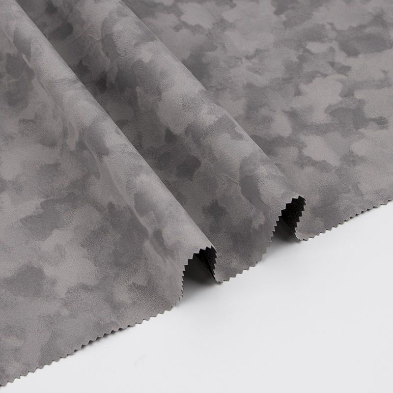 深棕色无纺短毛背胶植绒布(E00.D2.0964)