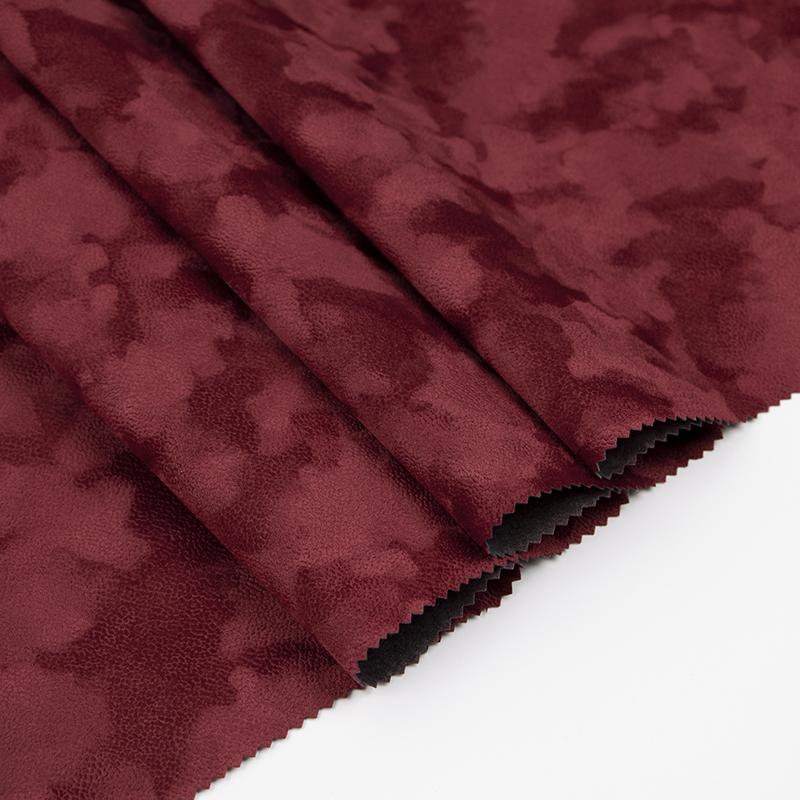 厂家直销 红色无纺底短毛 A00.D1.0928